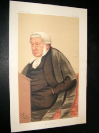 Vanity Fair Print 1876 Sir George Bramwell